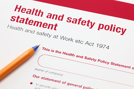Workplace health and safety training